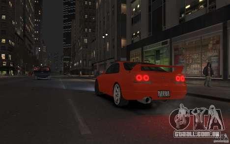 Nissan Skyline para GTA 4 esquerda vista