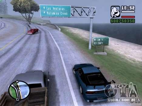 Nissan 180SX para GTA San Andreas esquerda vista
