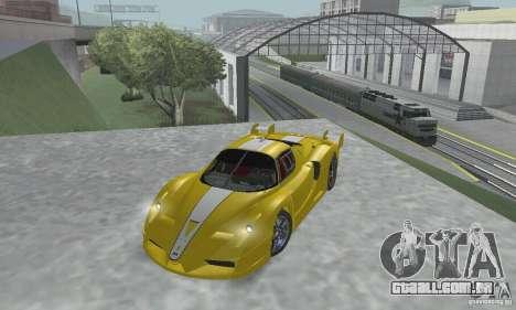 Ferrari FXX para GTA San Andreas vista interior