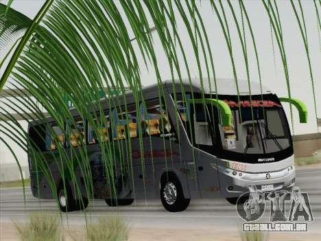 Marcopolo Paradiso 1200 G7 para GTA San Andreas vista interior