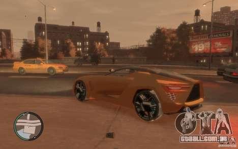 Bertone Mantide para GTA 4 esquerda vista
