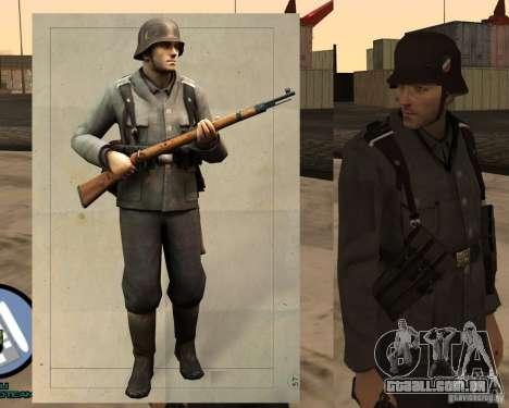 Unteroficer da Wehrmacht para GTA San Andreas