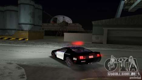Saleen S281 Barricade 2007 para GTA Vice City vista interior