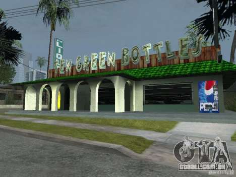 Máquinas de venda automática de Pepsi e planta para GTA San Andreas terceira tela