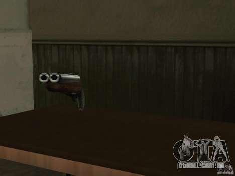 Pak versão doméstica de armas 2 para GTA San Andreas sétima tela