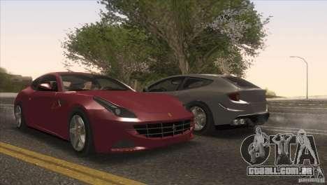 Ferrari FF 2011 V1.0 para as rodas de GTA San Andreas