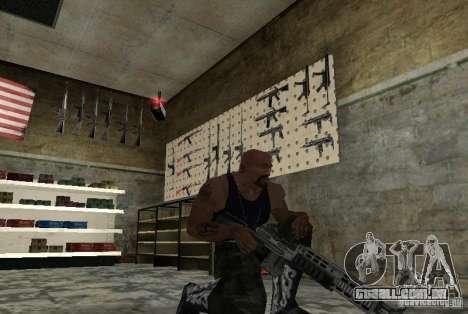 M14 EBR do Killing Floor para GTA San Andreas segunda tela