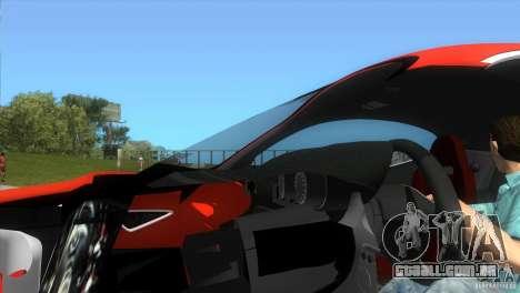 Alfa Romeo 8C Competizione para GTA Vice City vista direita