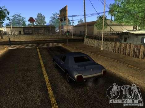 ENBseies v 0.075 para os computadores fracos para GTA San Andreas segunda tela
