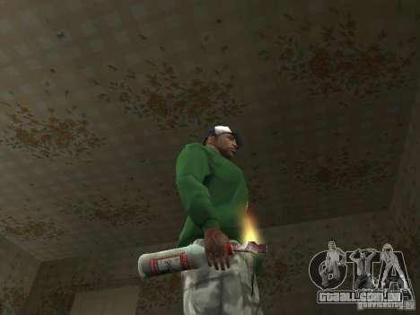 Pak domésticos armas V2 para GTA San Andreas sexta tela