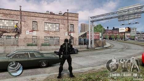 Crysis 2 NanoSuit v4.0 para GTA 4 segundo screenshot