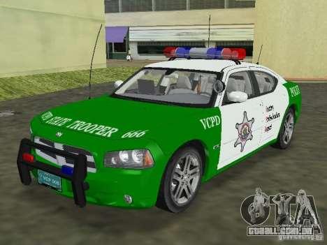 Dodge Charger Police para GTA Vice City