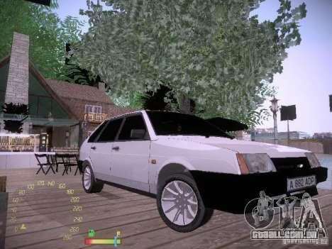 2109 Vaz para GTA San Andreas