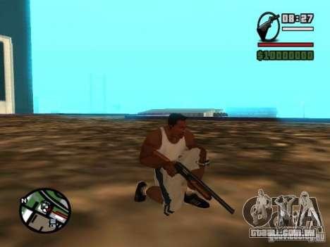Gangster Weapon Pack para GTA San Andreas quinto tela