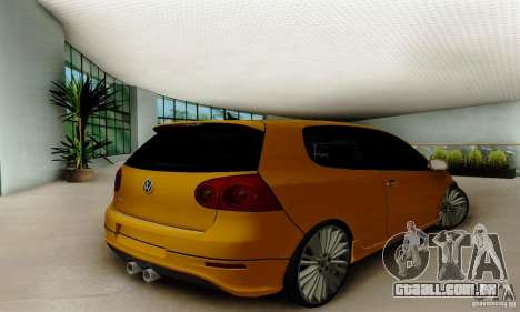Volkswagen Golf R32 para GTA San Andreas esquerda vista