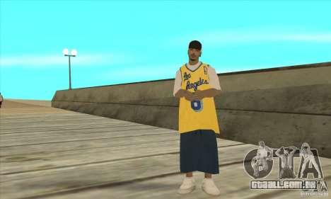 Substituir todos os skins Los Santos Vagos Gang para GTA San Andreas quinto tela
