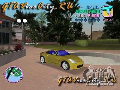 NISSAN Z350 para GTA Vice City