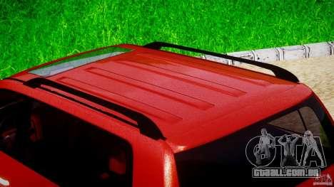 Toyota Land Cruiser 200 2007 para GTA 4 vista inferior