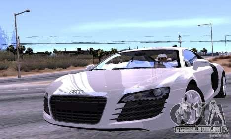 Audi R8 4.2 FSI para o motor de GTA San Andreas