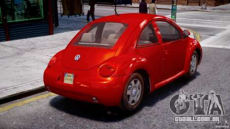 Volkswagen New Beetle 2003 para GTA 4 vista interior