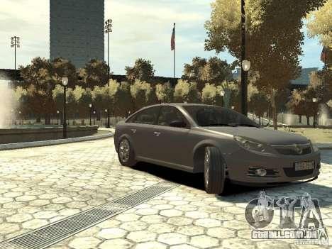 Opel Vectra para GTA 4 vista direita