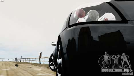 Opel Speedster Turbo 2004 para GTA 4 vista interior