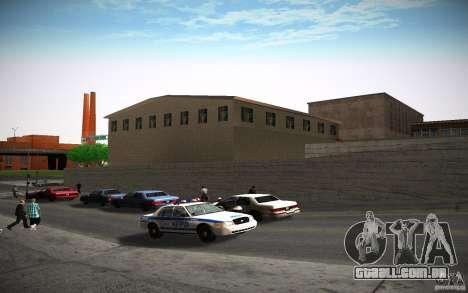Departamento de fogo HD para GTA San Andreas oitavo tela