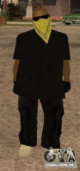 Novas skins gangue de Vagos para GTA San Andreas segunda tela