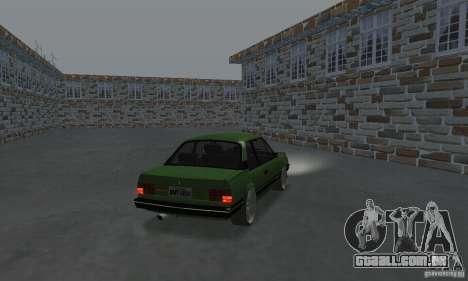 Chevrolet Monza SLE 2.0 1988 para GTA San Andreas esquerda vista
