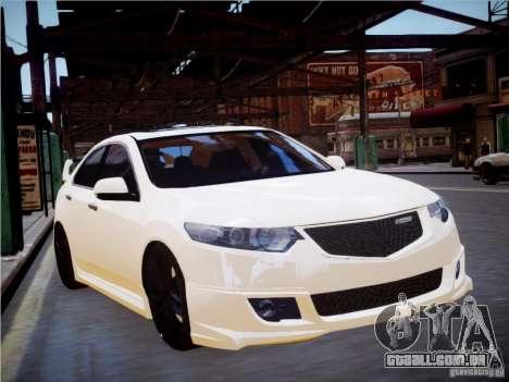 Honda Accord Mugen para GTA 4 traseira esquerda vista
