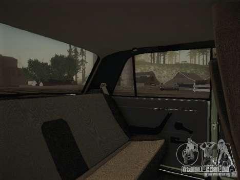 VAZ-2107 v2 para GTA San Andreas vista interior