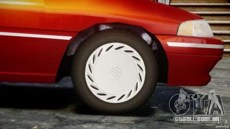 Mercury Tracer 1993 v1.0 para GTA 4 rodas