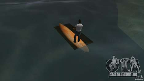 Surfboard 2 para GTA Vice City vista traseira esquerda