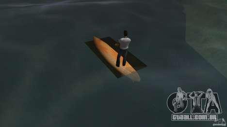 Surfboard 2 para GTA Vice City vista traseira esquerda