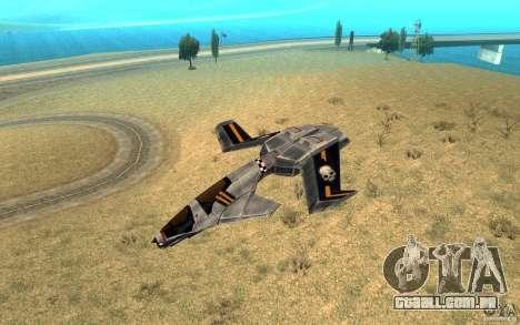Falcão ar comando e Conquer 3 para GTA San Andreas