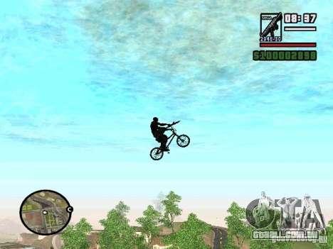 Bicicletas voadoras para GTA San Andreas