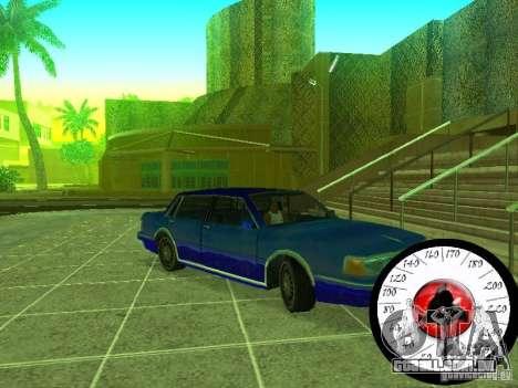 Nova Cpidometr para GTA San Andreas terceira tela