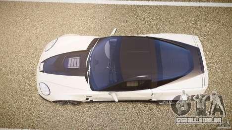Chevrolet Corvette ZR1 2009 para GTA 4 vista direita