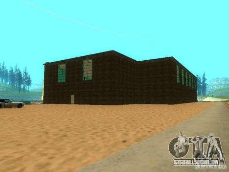 Tricking Gym para GTA San Andreas quinto tela
