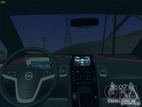 Opel Ampera 2012 para GTA San Andreas vista traseira