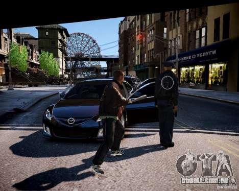 Bad Niko para GTA 4 por diante tela
