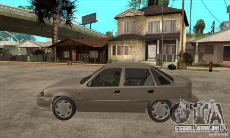 Daewoo Nexia Dohc 2009 para GTA San Andreas esquerda vista