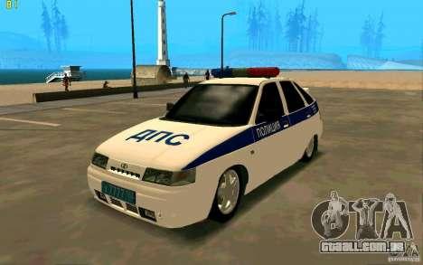 Polícia VAZ-2112 para GTA San Andreas