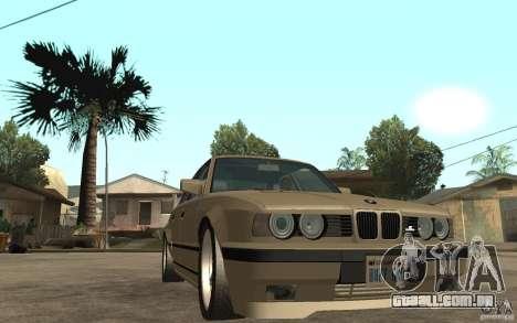 BMW 535i e34 AC Schnitzer para GTA San Andreas vista traseira