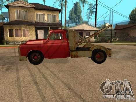 Caminhão Dodge é oxidado para GTA San Andreas esquerda vista