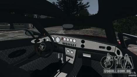 Spyker C8 Laviolette LM85 para GTA 4 vista interior