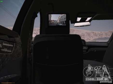 Mercedes Benz S65 AMG 2012 para vista lateral GTA San Andreas