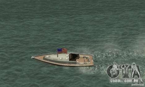 USA Marquis para GTA San Andreas vista traseira