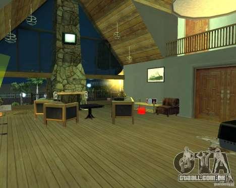 Villa nova para o CJ para GTA San Andreas
