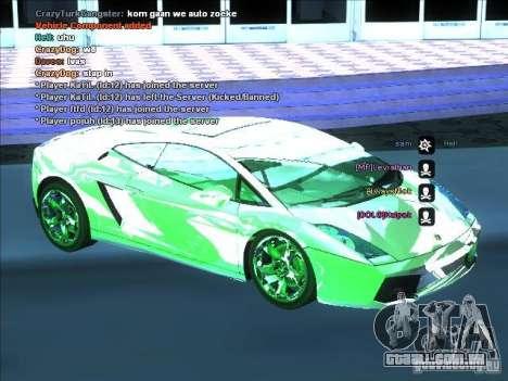 Série ENB para placa de vídeo fraca para GTA San Andreas por diante tela